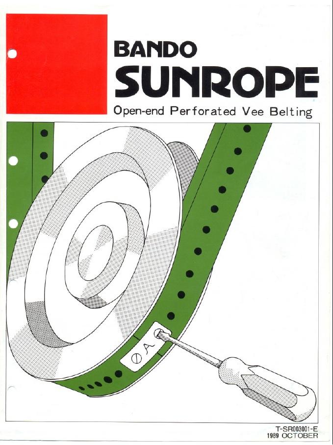 Ремни Bando Sunrope