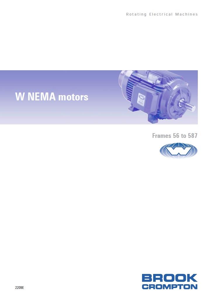 NEMA электромотор