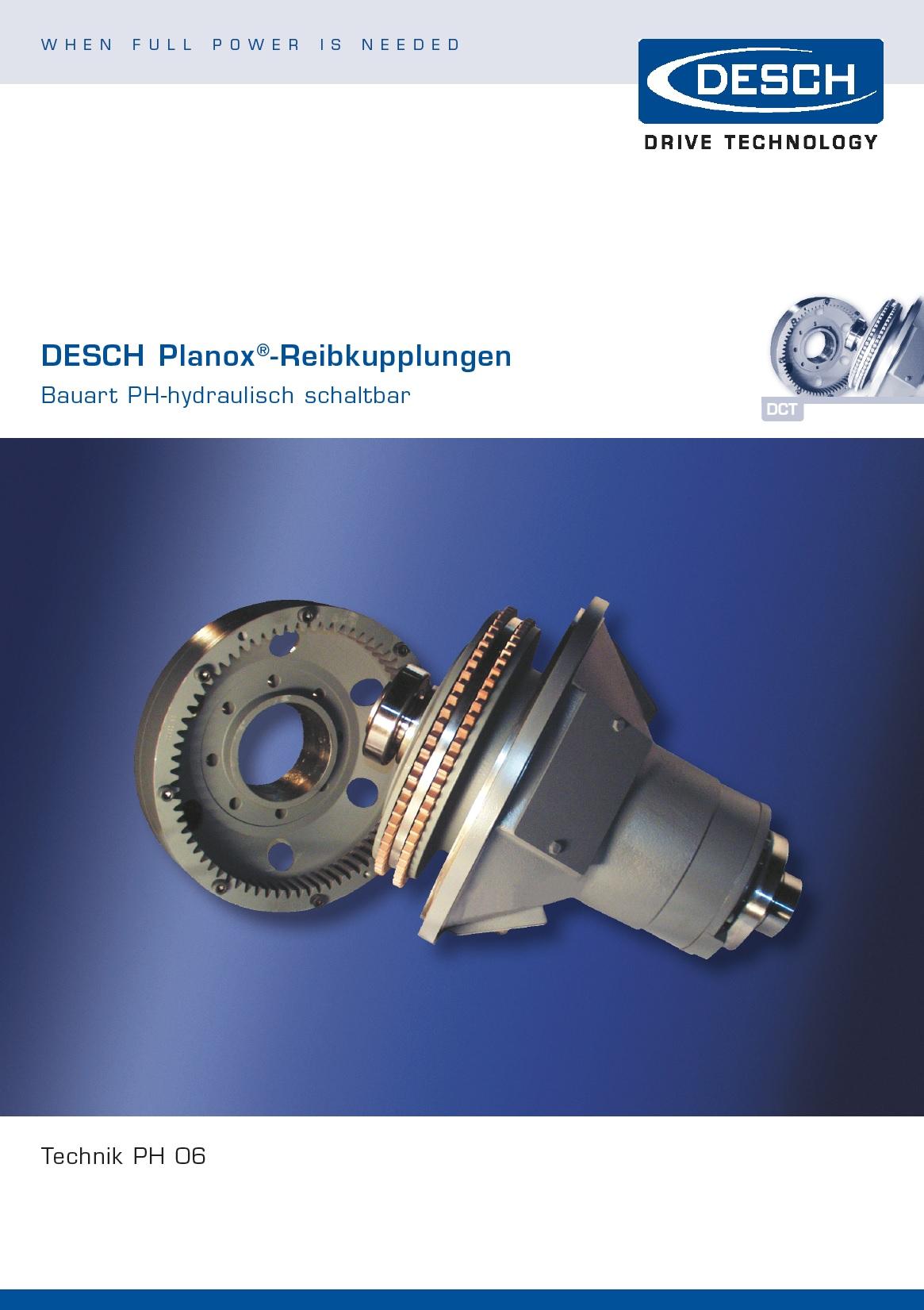Сухое дисковое сцепление Desch Antriebstechnik