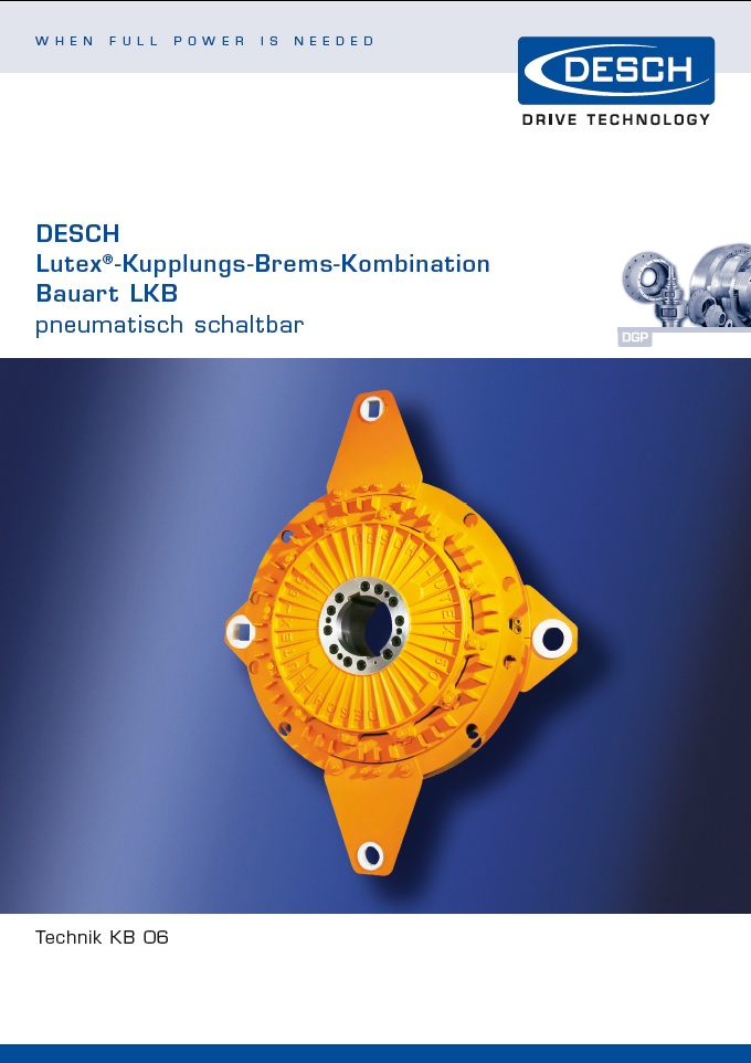 тормоз-сцепление Desch Lutex LKB