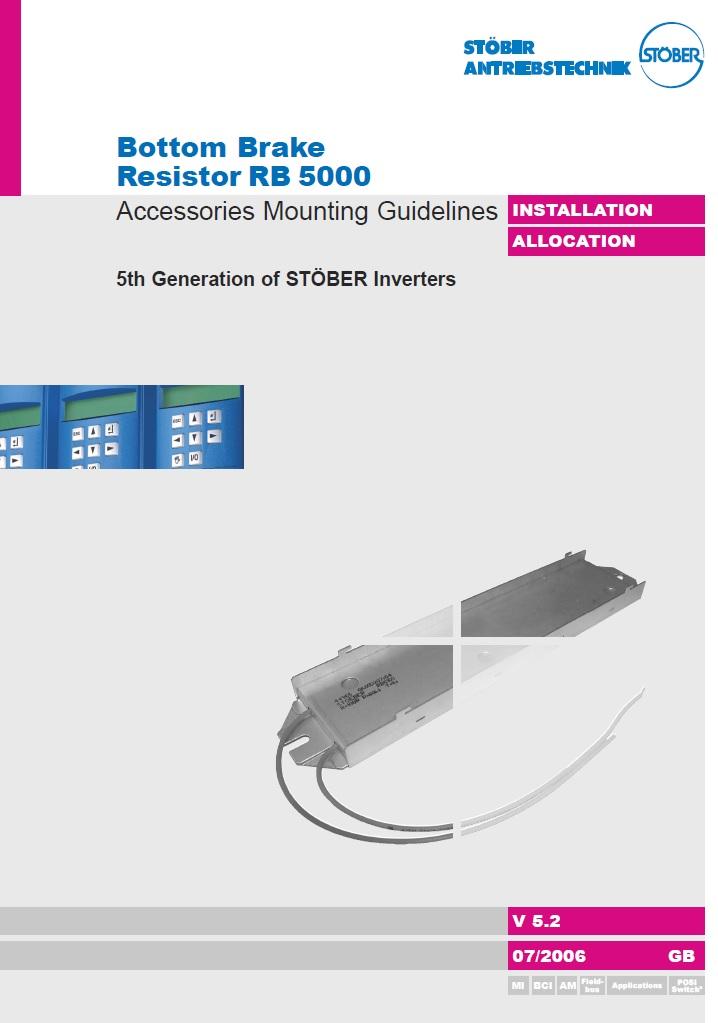 тормозной резистор частотника Stober