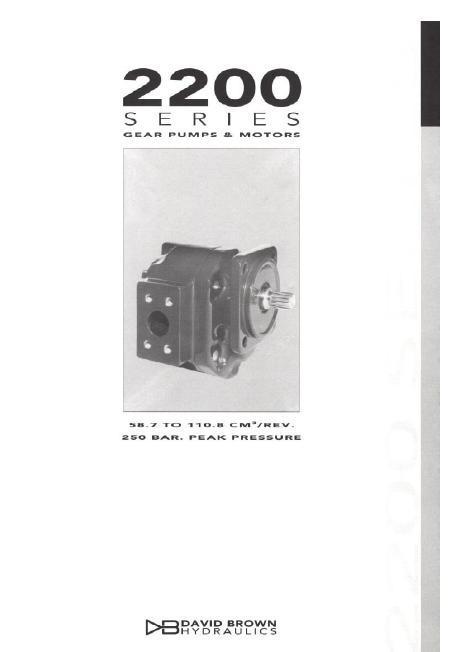 DB hydraulics насос