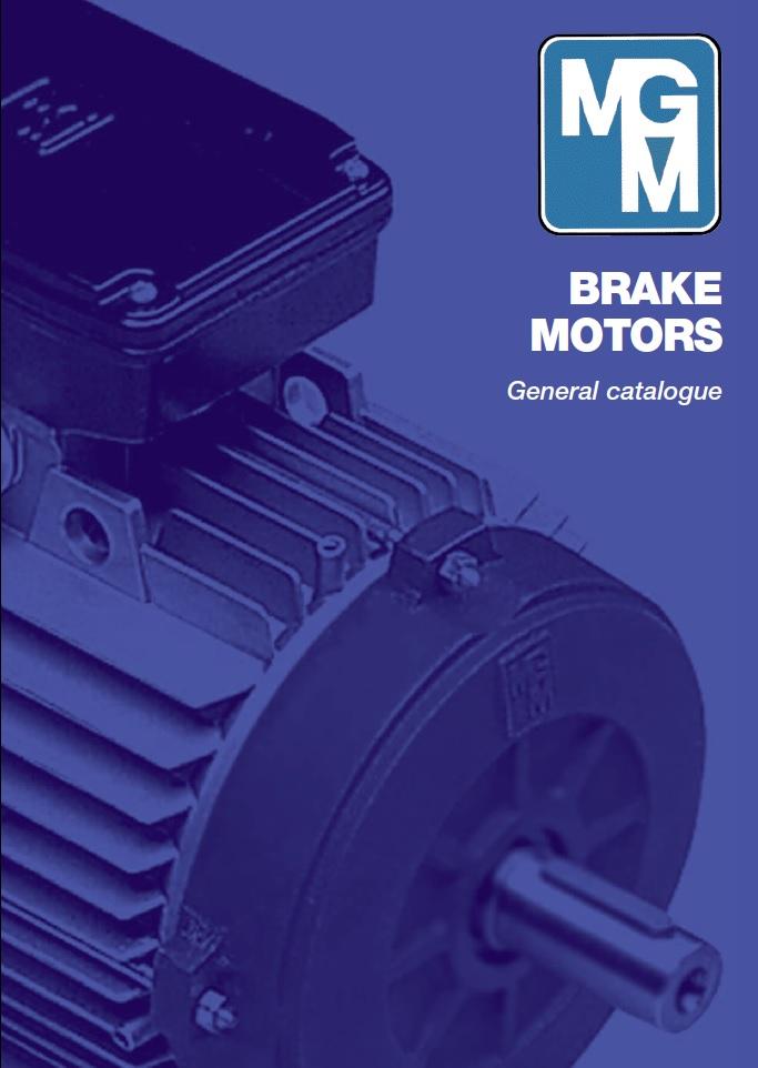 Электродвигатели MGM с тормозом и двухскоростные