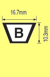 ремень b