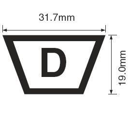 ремень d