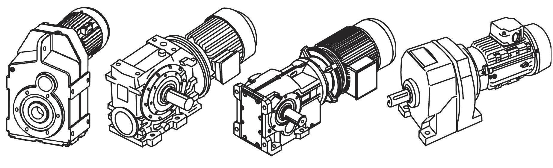 мотор-редуктор Falk