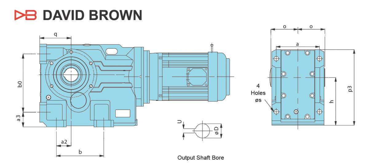 Flender мотор-редуктор