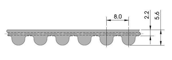 ремень HTD 8M