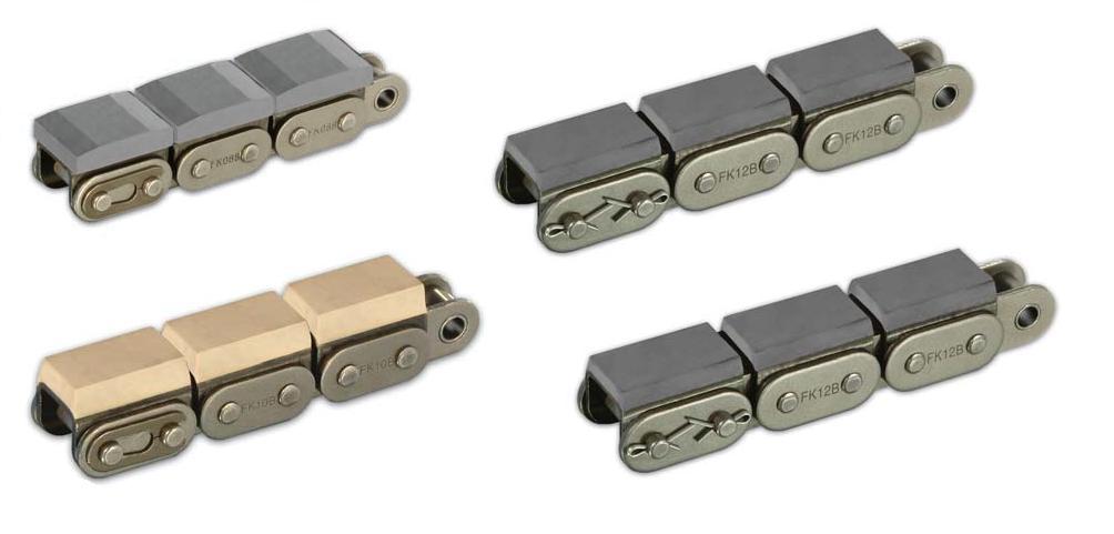 цепи с полимерными блоками