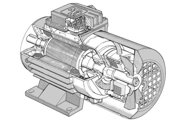электродвигатель с тормозом
